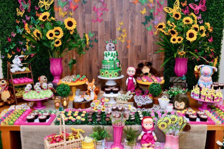 Festa Masha e o Urso: as melhores dicas de decoração!