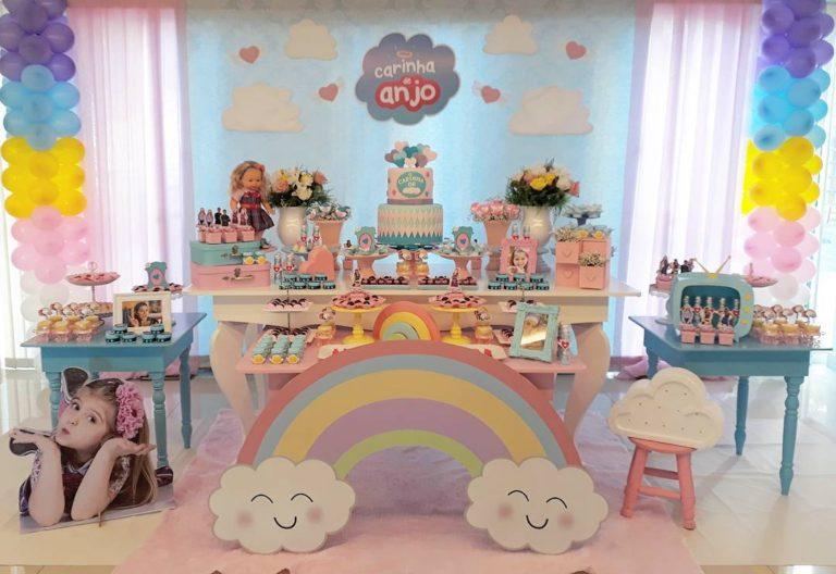 Festa infantil com o tema Carinha de Anjo – Inspire-se aqui!