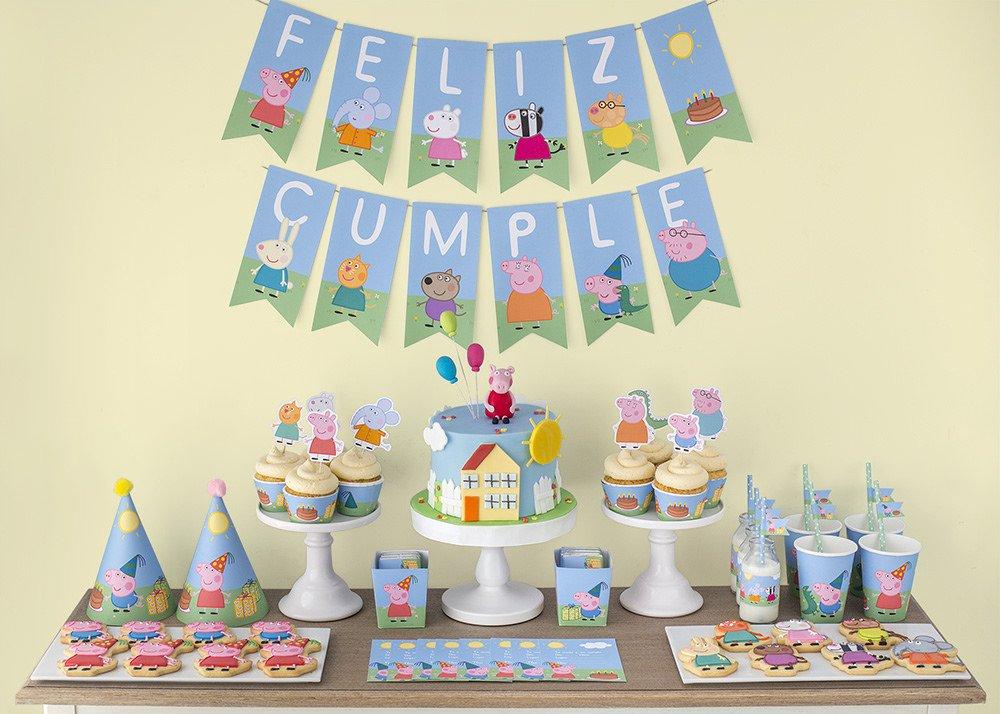decoração festa peppa pig