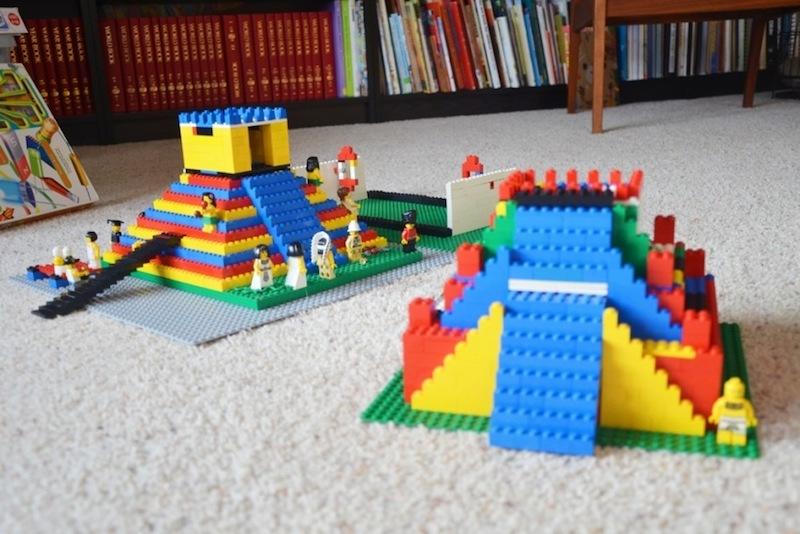 dicas para criar com LEGO