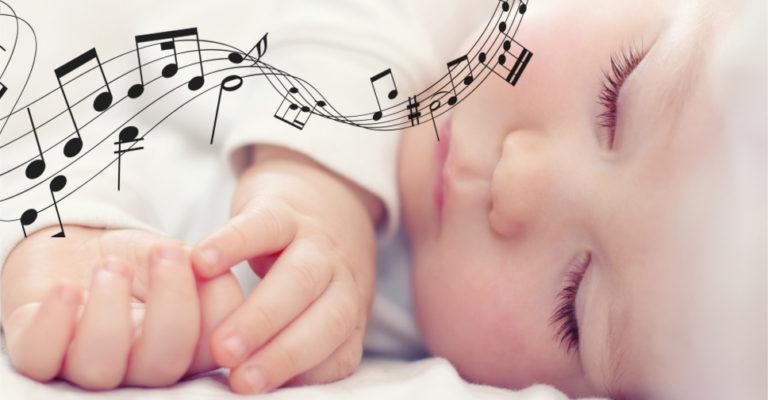 Os benefícios da música para bebês, e qual música para bebê dormir?