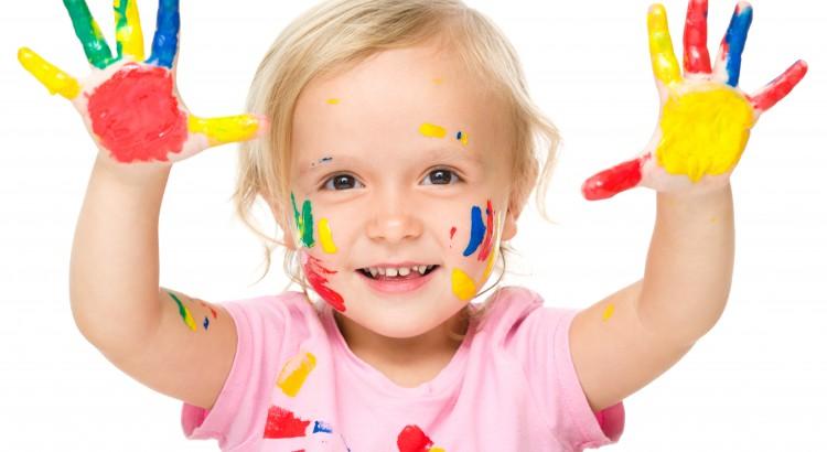 Várias ideias de como ensinar as cores para crianças
