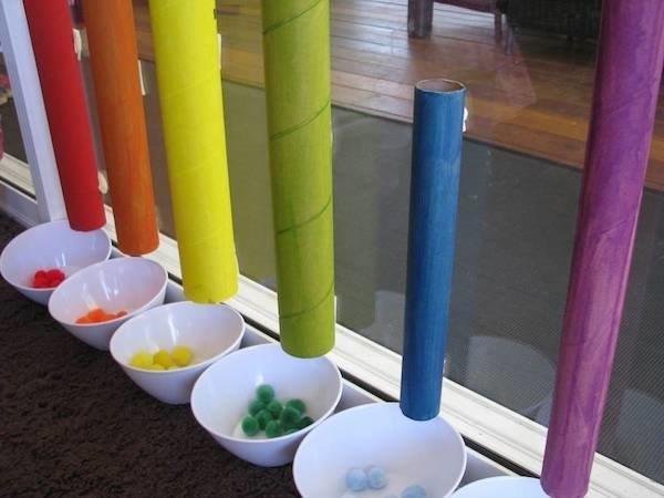 ideias de como ensinar as cores