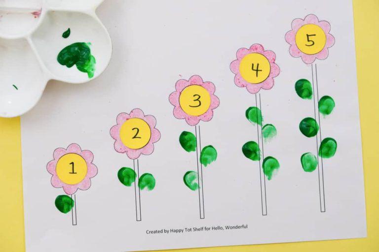 Ideias de como ensinar os números para crianças