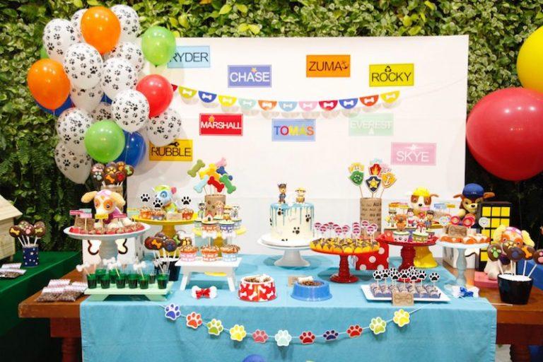 Festa Infantil Patrulha Canina (para meninos e meninas!)