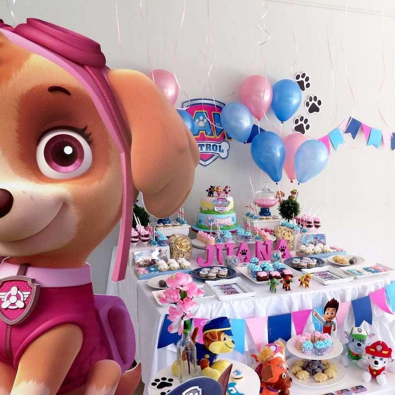 Festa Infantil Patrulha Canina para meninas