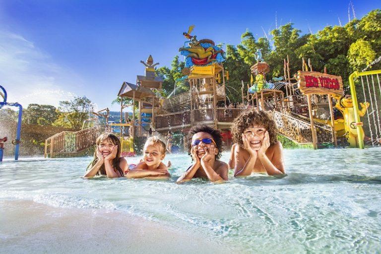 3 resorts recomendados para famílias com crianças
