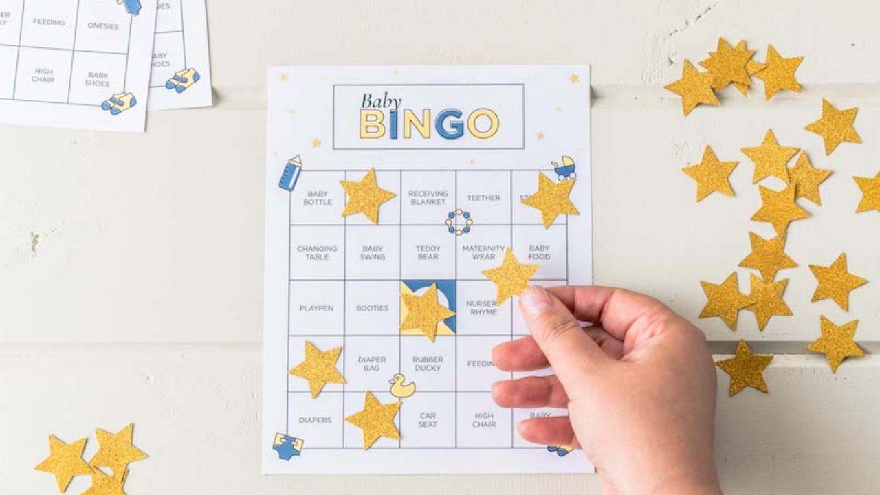 Bingo chá de bebê - ideias e cartela para imprimir!