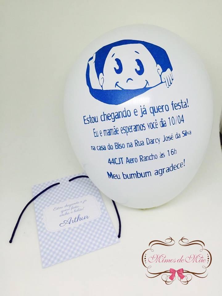 convites para chá de bebê