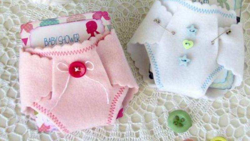 ideias de convites para chá de bebês