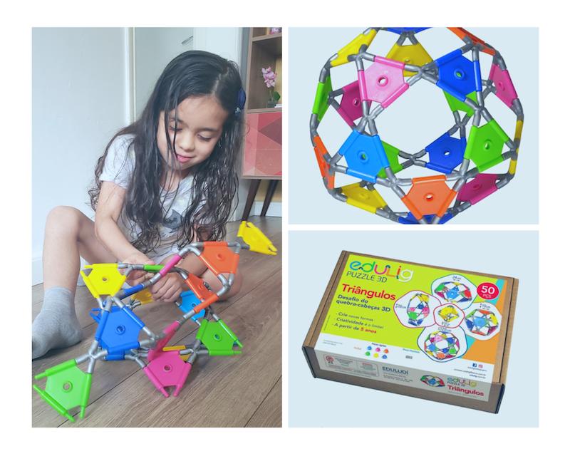 Brinquedos educativos e criativos