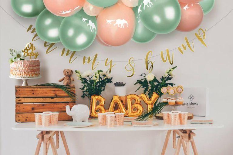 Mesa Principal Chá de Bebê (50 ideias para você se inspirar)