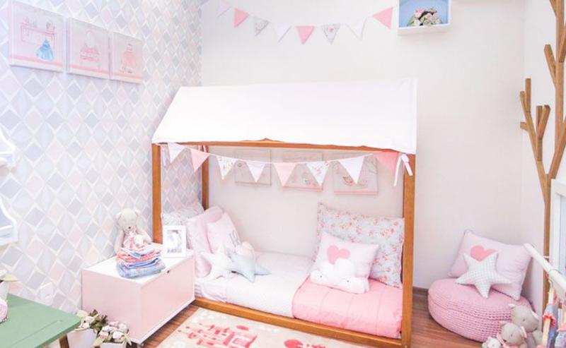quarto com mini cama