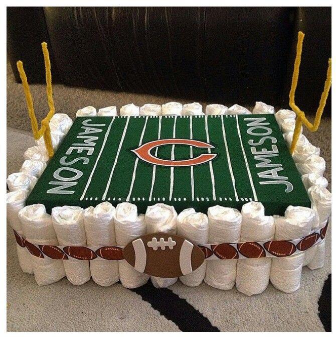 bolo com o tema futebol