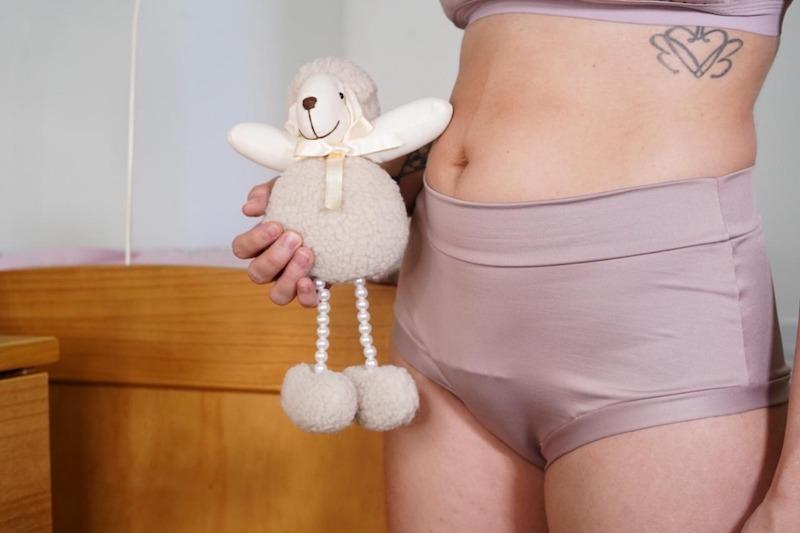 calcinha pós parto