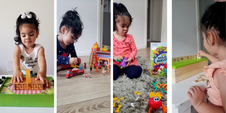 Dicas de brinquedos para crianças acima de 3 anos