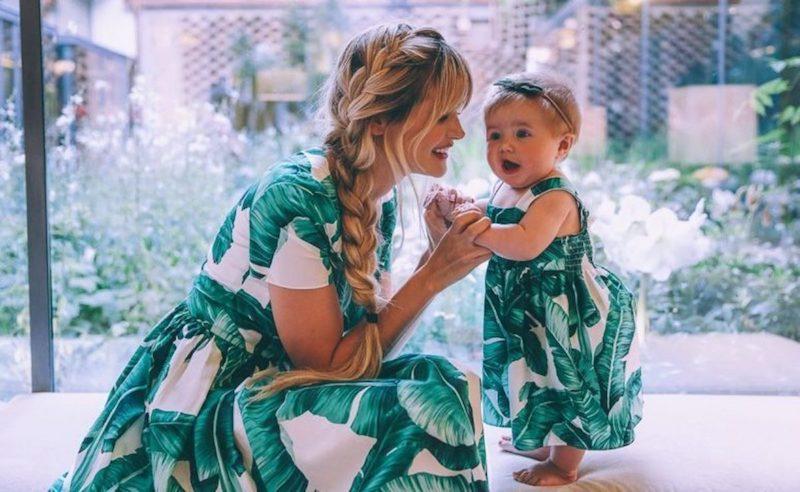 looks mãe e filha