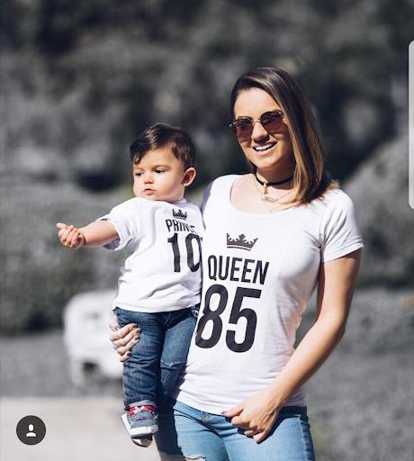 ideias de Looks de mãe e filho