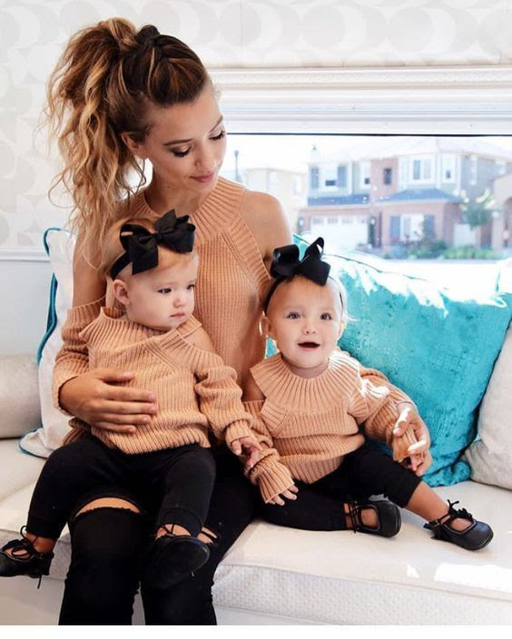 ideias de Looks de mãe e filha