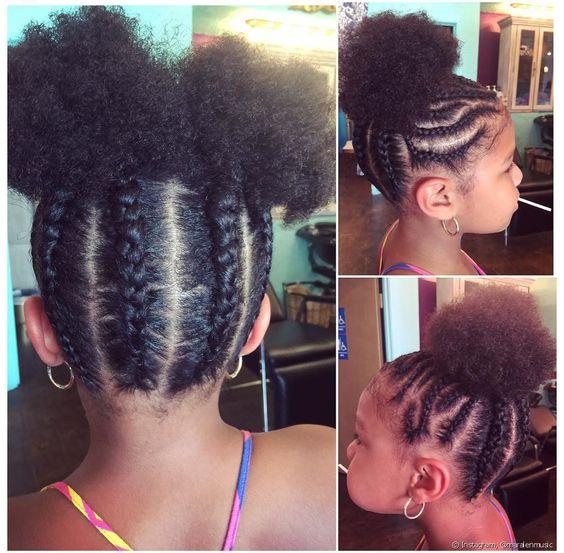 penteados com tranças para cabelo afro