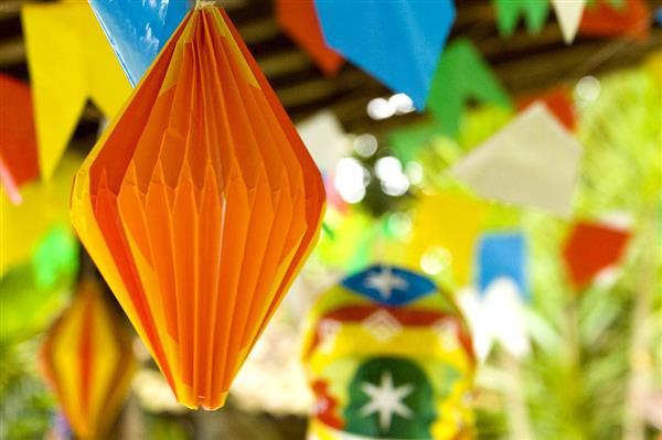 Balões Decoração festa junina