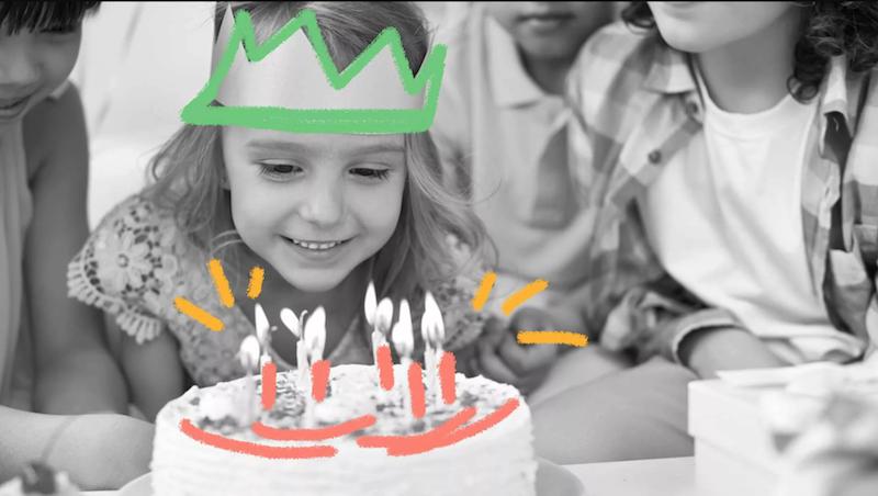 dica para festa infantil sustentável