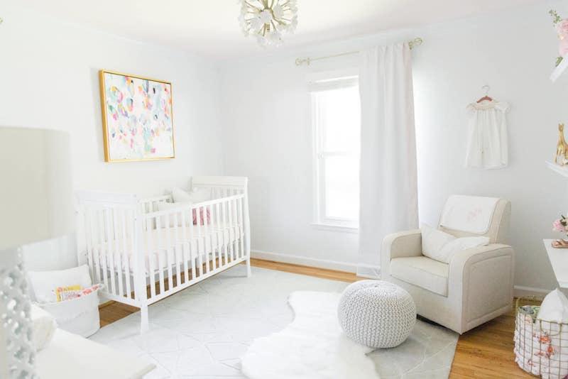 Cores para quarto de bebê