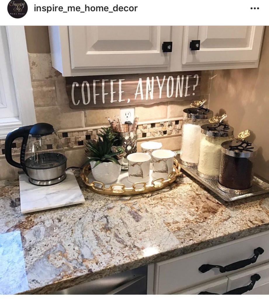 Estações de café em casa