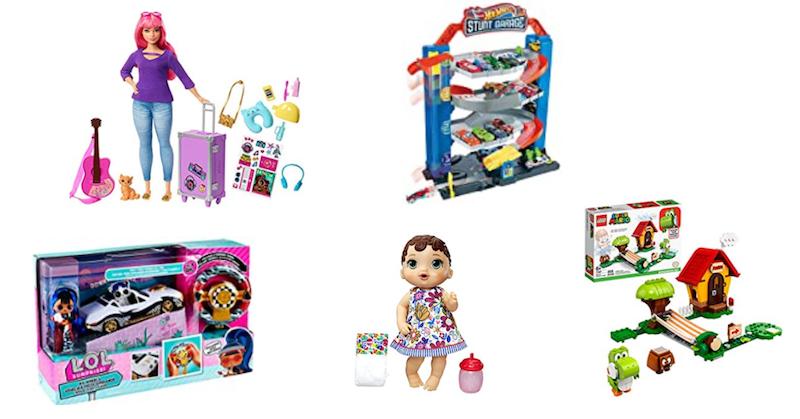 guia de presentes de natal para crianças de 3 a 5 anos