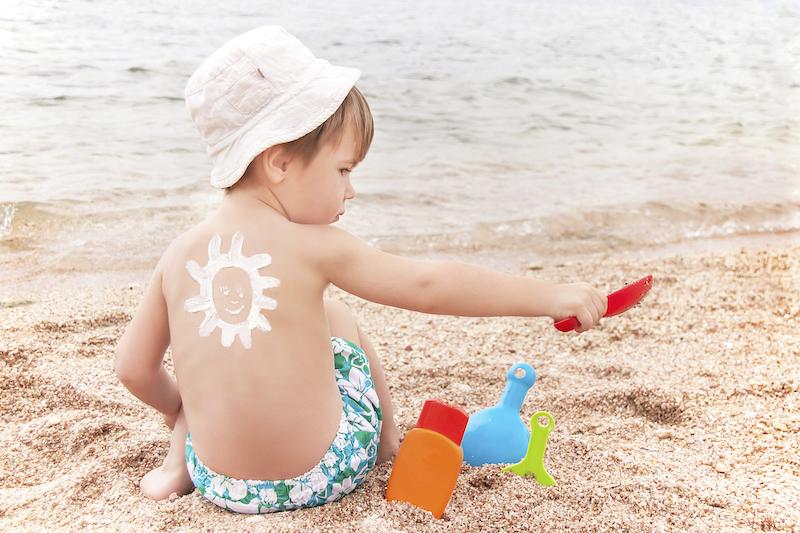 problemas de saúde no verão com as crianças