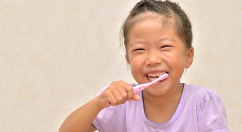 cuidados dentes crianças