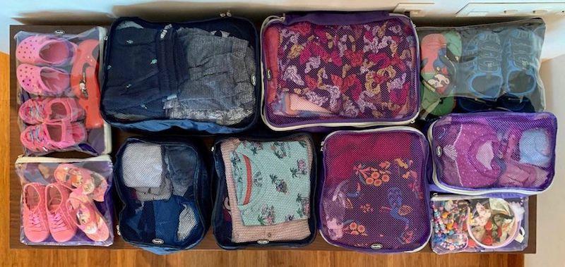 dicas de como organizar a mala