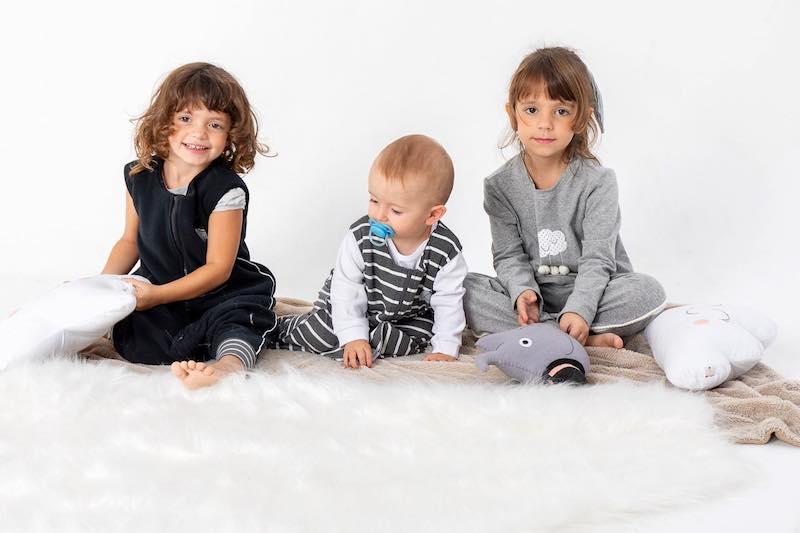 saco de dormir para bebês e crianças