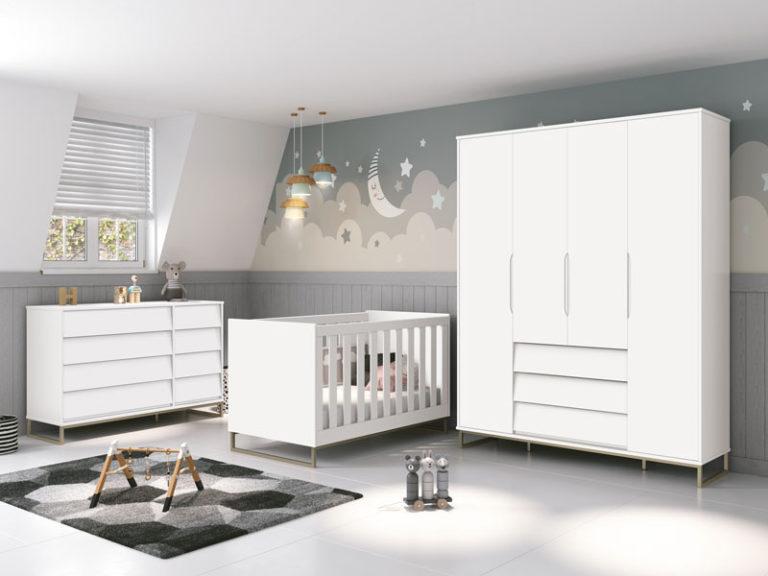 Como escolher os móveis para quarto de bebê? (e 5 estilos inspiradores)